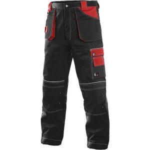 črno rdeče delovne hlače za krovce