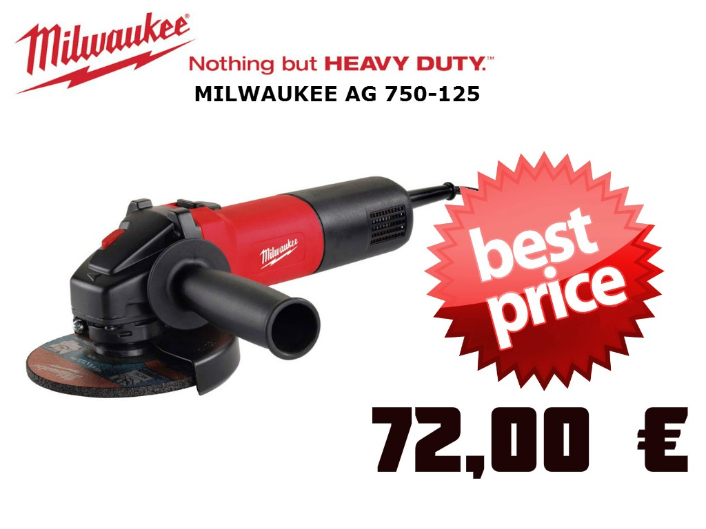 Milwaukee Ag 750-72 €