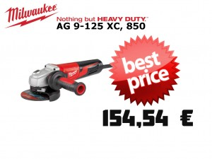 -Milwaukee kotna brusilka AG 9-125 XC protector 85